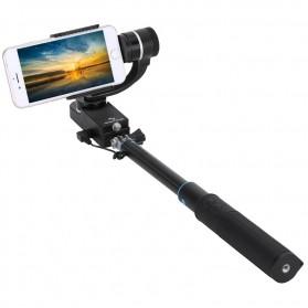 Feiyu Tech Tongsis SmartStab 2-Axis Selfie Gimbal for Smartphone - Black
