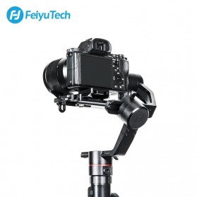 Feiyu Tech AK2000 Gimbal Stabilizer 3-Axis Follow Focus Zoom for Sony Canon Panasonic Nikon - Black - 4