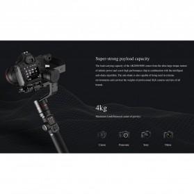 Feiyu Tech AK4000 Gimbal Stabilizer 3-Axis  Follow Focus Zoom for Sony Canon Panasonic Nikon - Black - 7