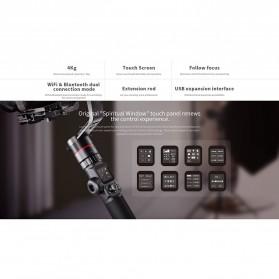 Feiyu Tech AK4000 Gimbal Stabilizer 3-Axis  Follow Focus Zoom for Sony Canon Panasonic Nikon - Black - 8