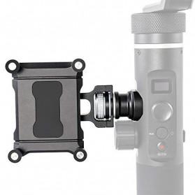 Feiyu Tech Smartphone Side Clamp Holder Bracket for G6 G6 Plus SPG2 Gimbal - Black - 3