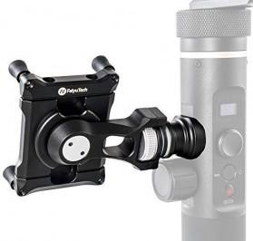 Feiyu Tech Smartphone Side Clamp Holder Bracket for G6 G6 Plus SPG2 Gimbal - Black - 4