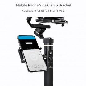 Feiyu Tech Smartphone Side Clamp Holder Bracket for G6 G6 Plus SPG2 Gimbal - Black - 5