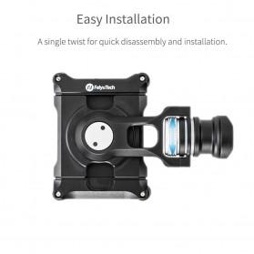 Feiyu Tech Smartphone Side Clamp Holder Bracket for G6 G6 Plus SPG2 Gimbal - Black - 6