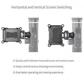 Feiyu Tech Smartphone Side Clamp Holder Bracket for G6 G6 Plus SPG2 Gimbal - Black - 8