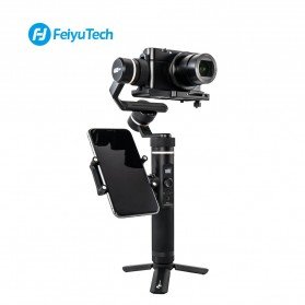 Feiyu Tech Smartphone Side Clamp Holder Bracket for G6 G6 Plus SPG2 Gimbal - Black - 9