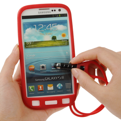 Multi Purpose Silicone Protective Case With Stylus Touch