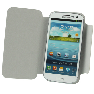 Flip Leather Case Cover Pouch With Holder For Samsung
