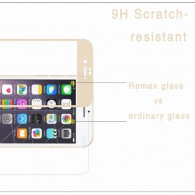 REMAX Front + Back Comprehensive Tempered Glass for iPhone 6/6s - Gray - 5