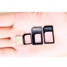 Remax 4 in 1 Nano Micro Sim Card Adapter Converter - 2