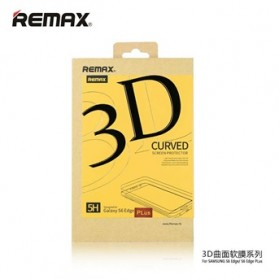 REMAX PET Full Cover Curved Screen Protector Material 3D Film for Samsung Galaxy S6 Edge Plus