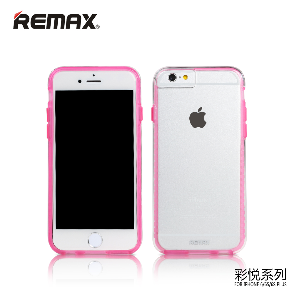 iphone 6 pink remax colorful series for iphone 6 6s pink 11378