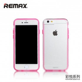 Remax Colorful Series Case for iPhone 6s Plus - Pink