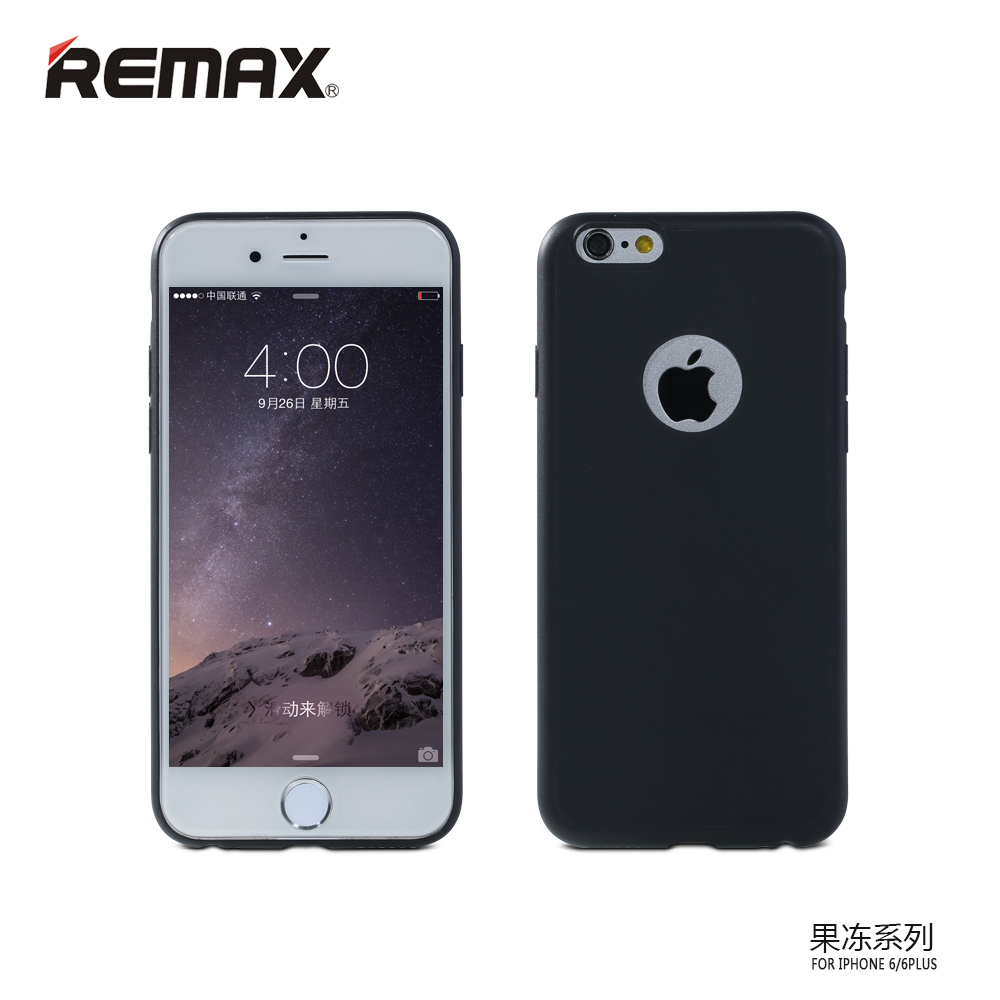 remax jelly series case for iphone 6 6s black. Black Bedroom Furniture Sets. Home Design Ideas