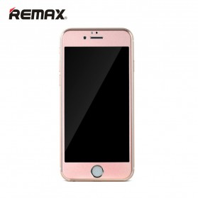 REMAX Metal + Steel Tempered Glass Gentry Series for iPhone 6s Plus - Rose Gold