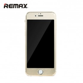 REMAX Metal + Steel Tempered Glass Gentry Series for iPhone 6s - Golden