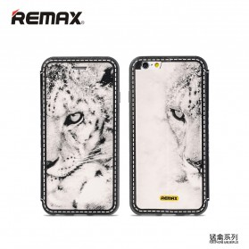 Remax Beast Series Flip Cover Case for iPhone 6s Plus - White