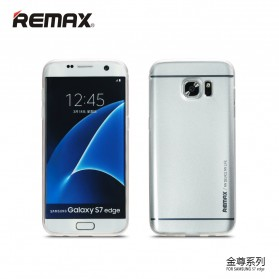 Remax Kingzone Series TPU Protective Soft Case for Samsung Galaxy S7 - Silver