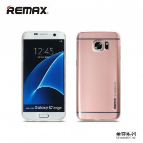 Remax Kingzone Series TPU Protective Soft Case for Samsung Galaxy S7 - Rose Gold