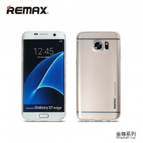 Remax Kingzone Series TPU Protective Soft Case for Samsung Galaxy S7 - Golden