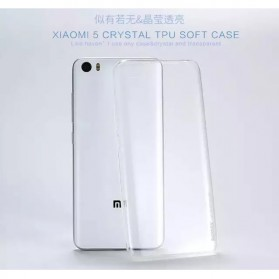 Remax Crystal Series TPU Protective Soft Case for Xiaomi Mi5 - Transparent