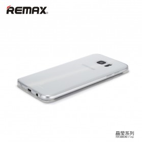 Remax Crystal Series TPU Protective Soft Case for Samsung Galaxy S7 - Transparent - 2