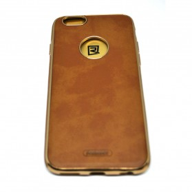 Remax Shell Series Leather Case for iPhone 6/6s - Brown