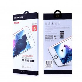 REMAX Gener Anti Blue Ray Tempered Glass 0.26mm for iPhone 6/6s - Black - 15
