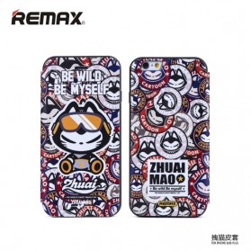 Remax Zhuaimao Series Flip Cover Case for iPhone 6/6s - Model 1