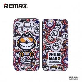 Remax Zhuaimao Series Flip Cover Case for iPhone 6 Plus - Model 1