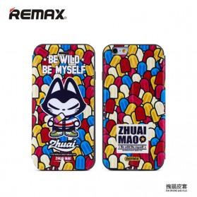 Remax Zhuaimao Series Flip Cover Case for iPhone 6 Plus - Model 4