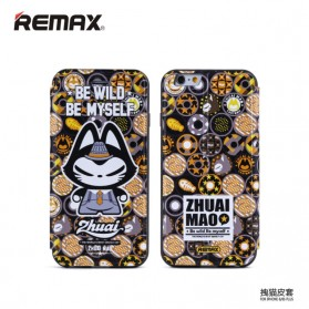 Remax Zhuaimao Series Flip Cover Case for iPhone 6 Plus - Model 5