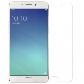 REMAX G Glass HD Tempered Glass 0.2mm for OPPO R9 & Oppo F1 Plus - Transparent