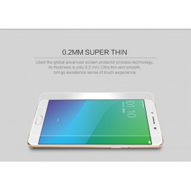 Remax G Glass HD Tempered Glass 0.2mm for OPPO R9 Plus - Transparent - 4
