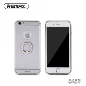 Remax Lock Series Case for iPhone 6/6s Plus - Silver