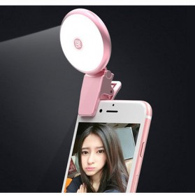 Remax Twilight Selfie Spotlight Flash Nine Brightness - ML-01 - Pink - 1
