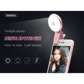 Remax Twilight Selfie Spotlight Flash Nine Brightness - ML-01 - Pink - 6
