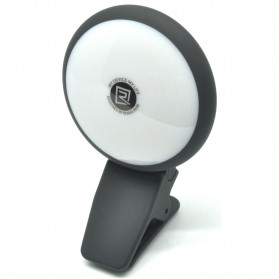 Remax Twilight Selfie Spotlight Flash Nine Brightness - Black