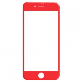 REMAX Gener 3D Tempered Glass 0.26mm for iPhone 7/8 Plus - Red