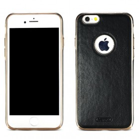 Remax Beck Series Leather Case for iPhone 7/8 Plus - Black