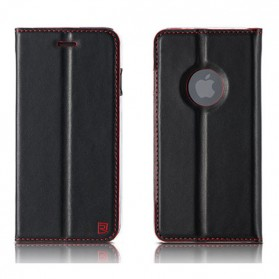 Remax Foldy Series Leather Case for iPhone 7 - Black
