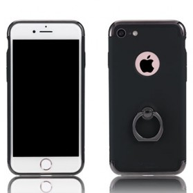 Remax Lock Series Case with iRing for iPhone 7 - Black