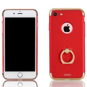 Remax Lock Series Case with iRing for iPhone 7/8 - Red - 1