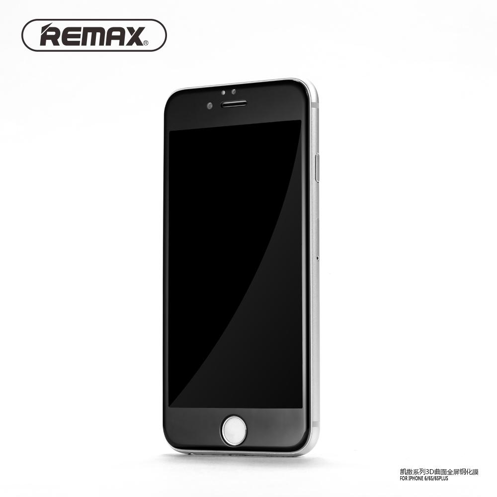 Screen Protector Tempered Glass Harga Murah Paket  Bb 1 Plus Tas Remax Caesar 3d 03mm For Iphone 6 6s Black