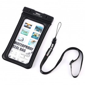 Remax Waterproof Bag 20 Meter for Smartphone 5 Inch - RT-W2 - Black