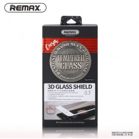 REMAX CAESAR 3D Tempered Glass 0.3mm for iPhone 7/8 - Black - 3