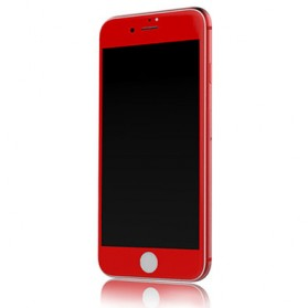 REMAX CAESAR 3D Tempered Glass 0.3mm for iPhone 7/8 - Red