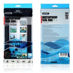 Remax Waterproof Bag 20 Meter for Smartphone 6 Inch - RT-W2 - Black - 3