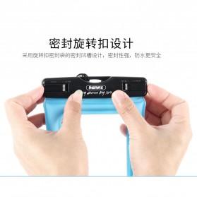 Remax Waterproof Bag 20 Meter for Smartphone 6 Inch - RT-W2 - Black - 5