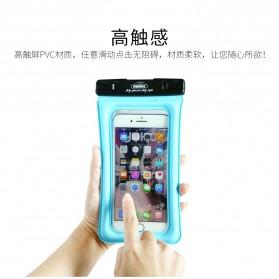Remax Waterproof Bag 20 Meter for Smartphone 6 Inch - RT-W2 - Black - 8
